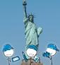 Illustration de couverture Découvrir New-York en famille