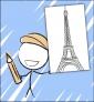 Illustration de couverture Je découvre Paris
