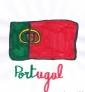 Drapeau portugais par Leo