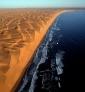 Désert Namibie vu d'avion par zm