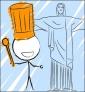 Illustration de couverture Je cuisine à Rio de Janeiro