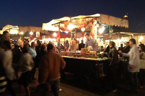 La place Jemaa el-Fna