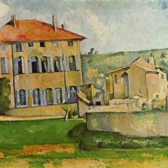 La maison du Jas de Bouffan de Paul Cézanne via Mikimedia Commons