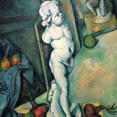 Nature morte avec Chérubin de Paul Cézanne via Wikimedia Commons