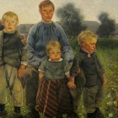 Les garçons de Bruxelles par Léon Frédéric