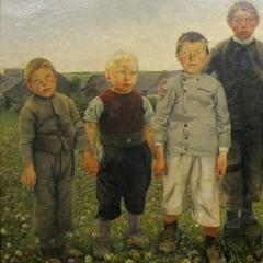 Garçons de Bruxelles par Léon Frédéric