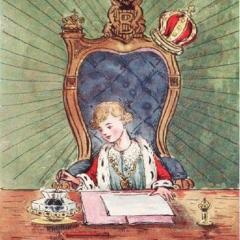 Le Roi Buby d'après George Howard Vyse