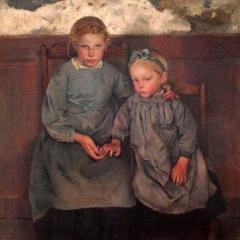 Les deux soeurs par Leon Frédéric