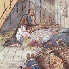 La mansarde de Gil d'après George Howard Vyse