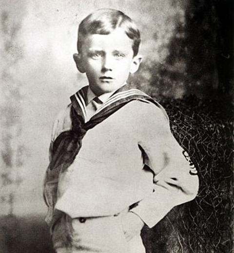 James Joyce enfant via Wikimedia Commons