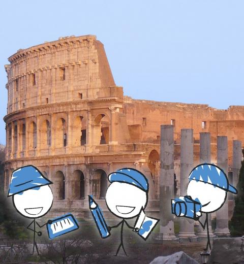 Découvrir Rome en famille