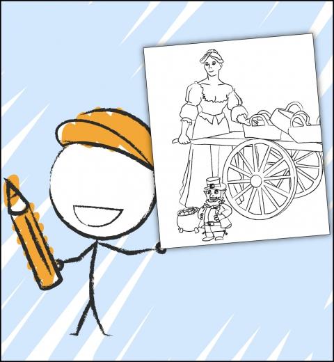 Illustration couverture guide Kid Dublin