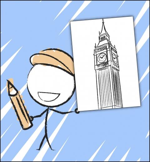 Illustration de couverture Je découvre Londres